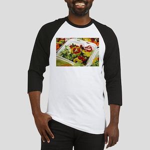 Fresh Garden Salad Baseball Jersey