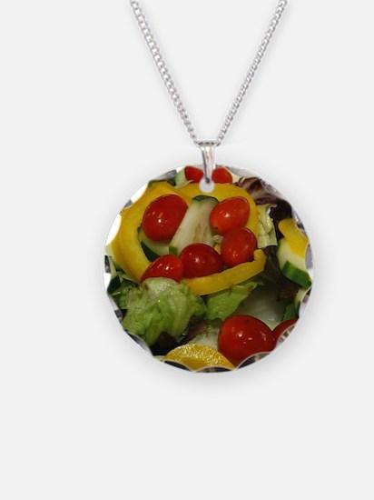 Fresh Garden Salad Necklace