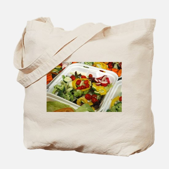 Fresh Garden Salad Tote Bag