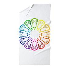 Summer Set Spectrum Heads Beach Towel