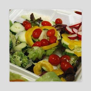 Fresh Garden Salad Queen Duvet