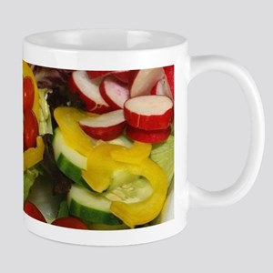 Fresh Garden Salad Mugs