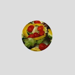 Fresh Garden Salad Mini Button
