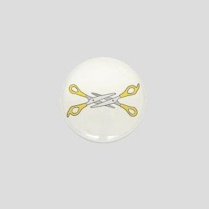 scissoring Mini Button