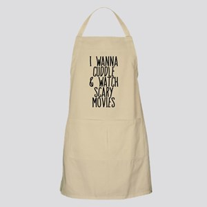 Cuddle and Watch a Movie Apron