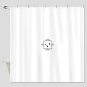 Baa Arabic letter B monogram Shower Curtain