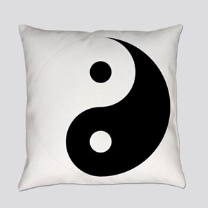 Yin And Yang Everyday Pillow