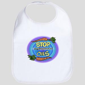 Stop Hydrogenated Oils Bib