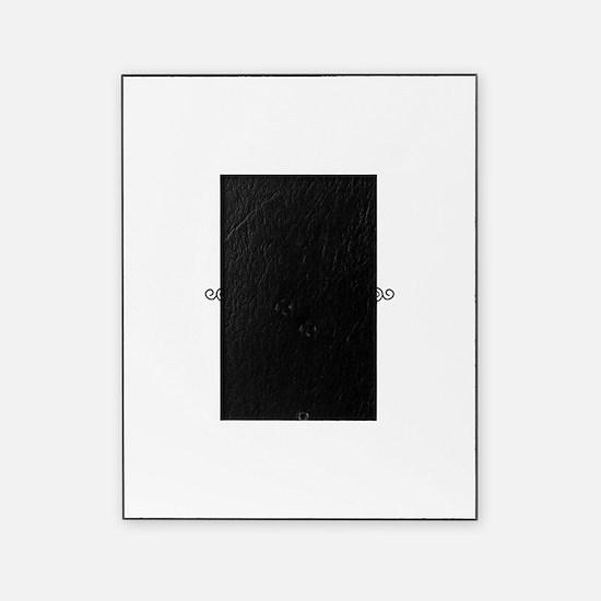 Shin Arabic letter Sh monogram Picture Frame