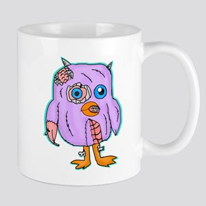 Purple Zombie Penguin Mugs