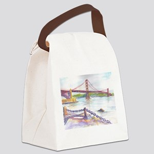 Golden Gate Canvas Lunch Bag