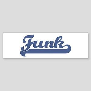 Funk (sport-blue) Bumper Sticker
