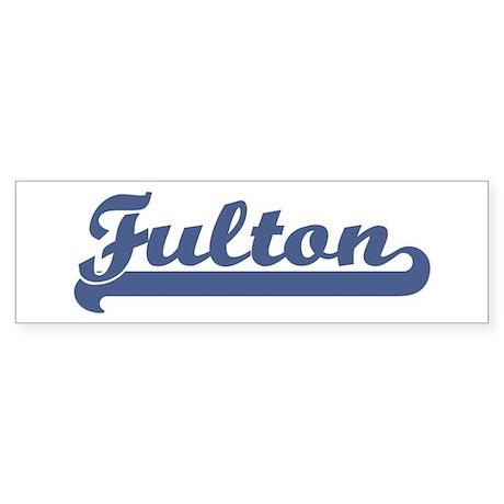 Fulton (sport-blue) Bumper Sticker