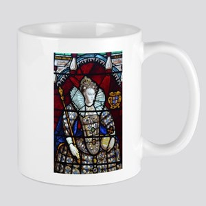 Queen Elizabeth I Stained Glass Mugs