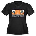 Power Cat Plus Size T-Shirt