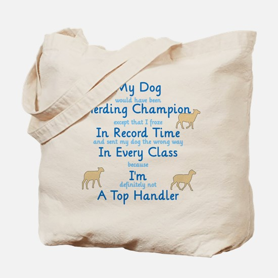 Herding Top Handler Tote Bag
