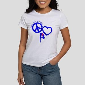 PEACE-LOVE-DIVING Women's T-Shirt