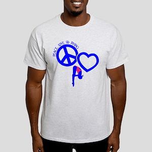 PEACE-LOVE-DIVING Light T-Shirt