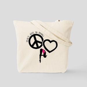 P-L-DIVING (both sides) Tote Bag