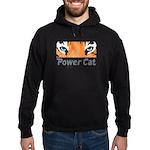 Power Cat Hoodie (dark)