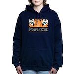 Power Cat Logo Women's Hooded Sweatshirt
