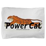 Power Cat Logo Pillow Sham