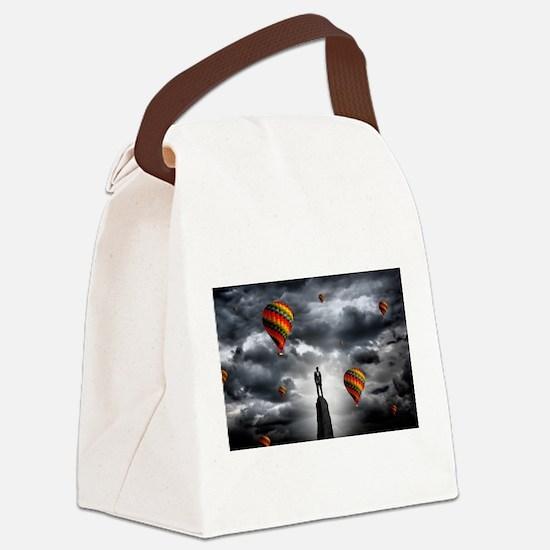 businessman Canvas Lunch Bag