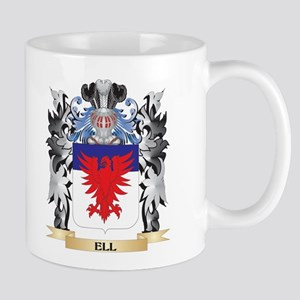 Ell Coat of Arms - Family Crest Mugs