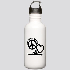 PEACE-LOVE-ROWING Stainless Water Bottle 1.0L