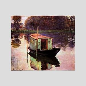 Studio Boat by Monet Throw Blanket