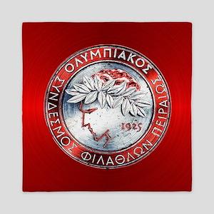 Olympiacos RED Queen Duvet