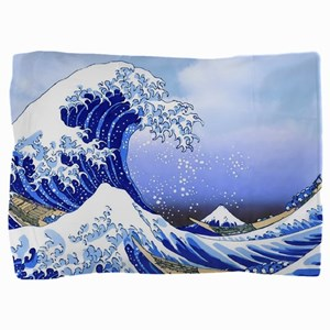 Surfs Up! Great Wave Hokusai Pillow Sham