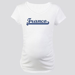 Franco (sport-blue) Maternity T-Shirt