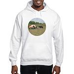 Dog Meets Sheep Hooded Sweatshirt