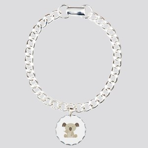 ASL I Love You Koala Charm Bracelet, One Charm