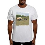 Dog Meets Sheep Ash Grey T-Shirt
