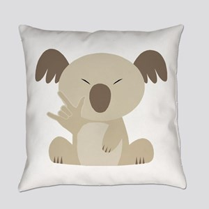 ASL I Love You Koala Everyday Pillow