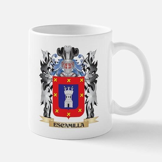 Escamilla Coat of Arms - Family Crest Mugs