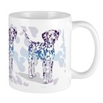 Colorful Dalmatian Trio Mugs