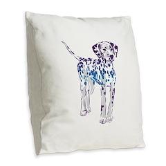 Burlap Throw Pillow
