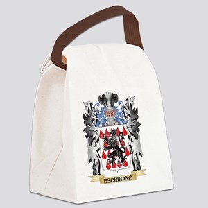 Escribano Coat of Arms - Family C Canvas Lunch Bag
