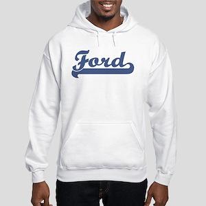 Ford (sport-blue) Hooded Sweatshirt