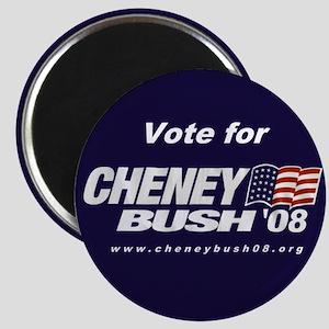 The Cheney-Bush 08 Magnet