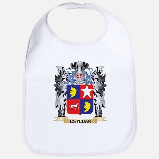 Esteban Coat of Arms - Family Crest Bib
