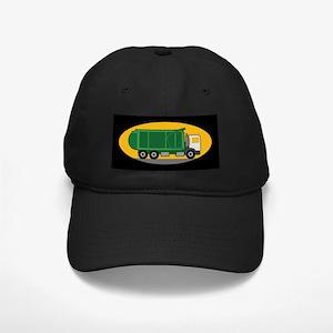 Garbage Truck Black Cap