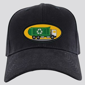 Recycling Truck Black Cap