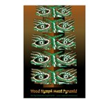 Woodland Eyes Postcards (Package of 8)