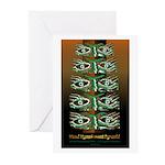 Woodland Eyes Greeting Cards (Pk of 20)