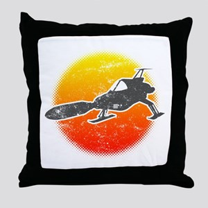UFO Interceptor Throw Pillow