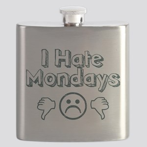 I Hate Mondays Flask